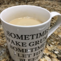 What is in my morning coffee cup?  It is  not what you think!